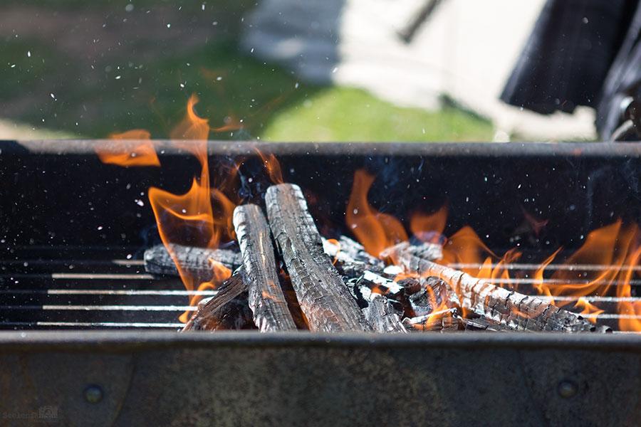 Arche Warder '17 - Tag 3 - Vorbereitung fürs Kochen bei gefühlten 30 Grad *ufff*