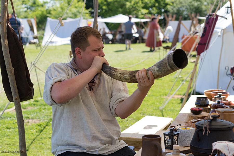 Arche Warder '17 - Tag 2 - Arnvidh und das Rufhorndoppel